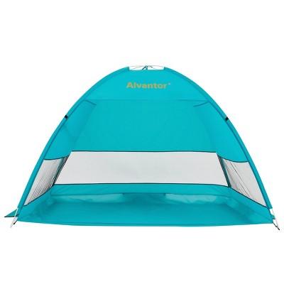 Outdoor Pop-Up Beach Tent - Teal - Alvantor
