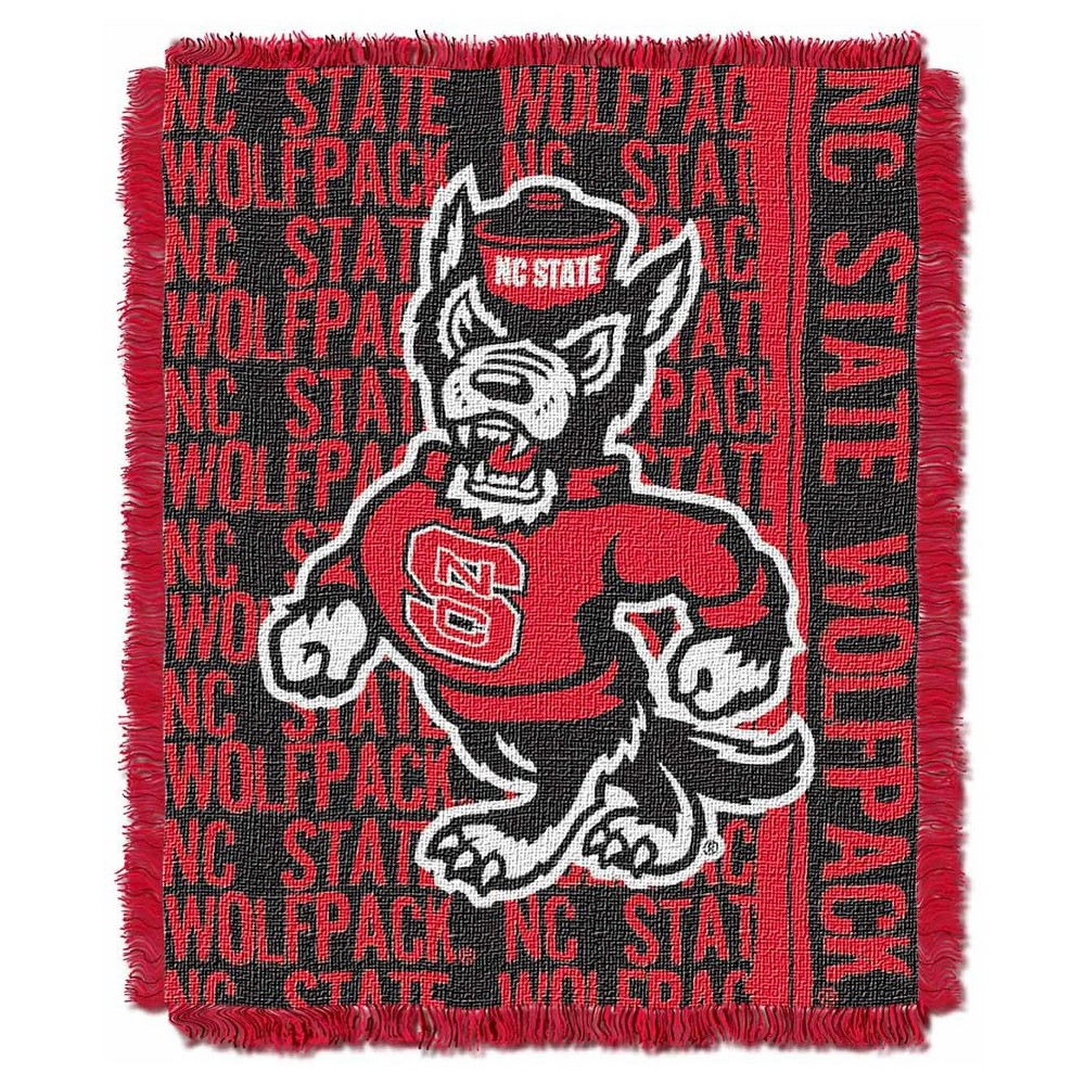 NCAA Triple Woven Throw NC State Wolfpack 48X60 Inches