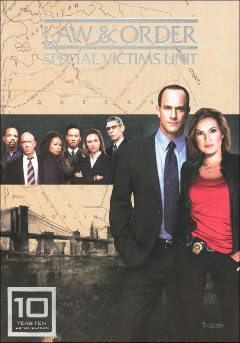 Law & Order: Special Victims Unit - Year Ten [5 Discs] - image 1 of 1