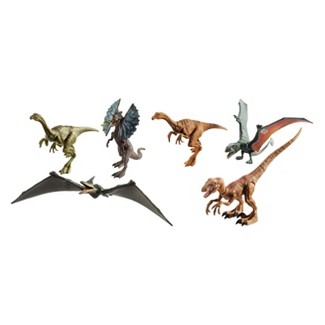 Jurassic World Legacy Collection Dinosaurs 6pk