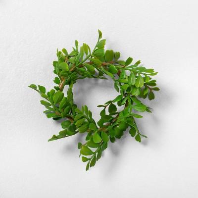 4pk Faux Locust Napkin Rings - Hearth & Hand™ with Magnolia