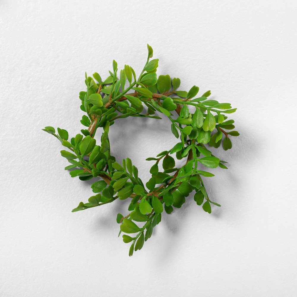Image of 4pk Faux Locust Napkin Rings - Hearth & Hand with Magnolia