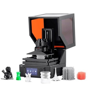 Monoprice MP Mini SLA LCD High Resolution Resin 3D Printer (118 x 65 x 110 mm) Build Area, Auto Leveling, Wi-Fi Web UI, 2K LCD Curing Screen