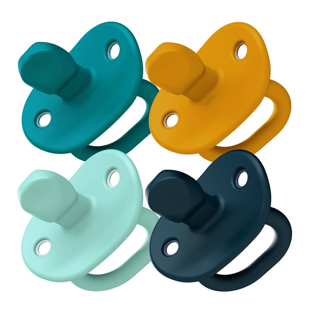 Image of Boon JEWL Stage 2 Pacifiers Blue - 4pk