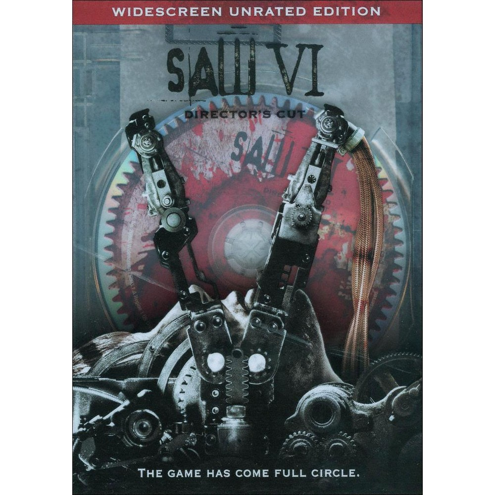 Saw VI (WS) (Unrated) (dvd_video)