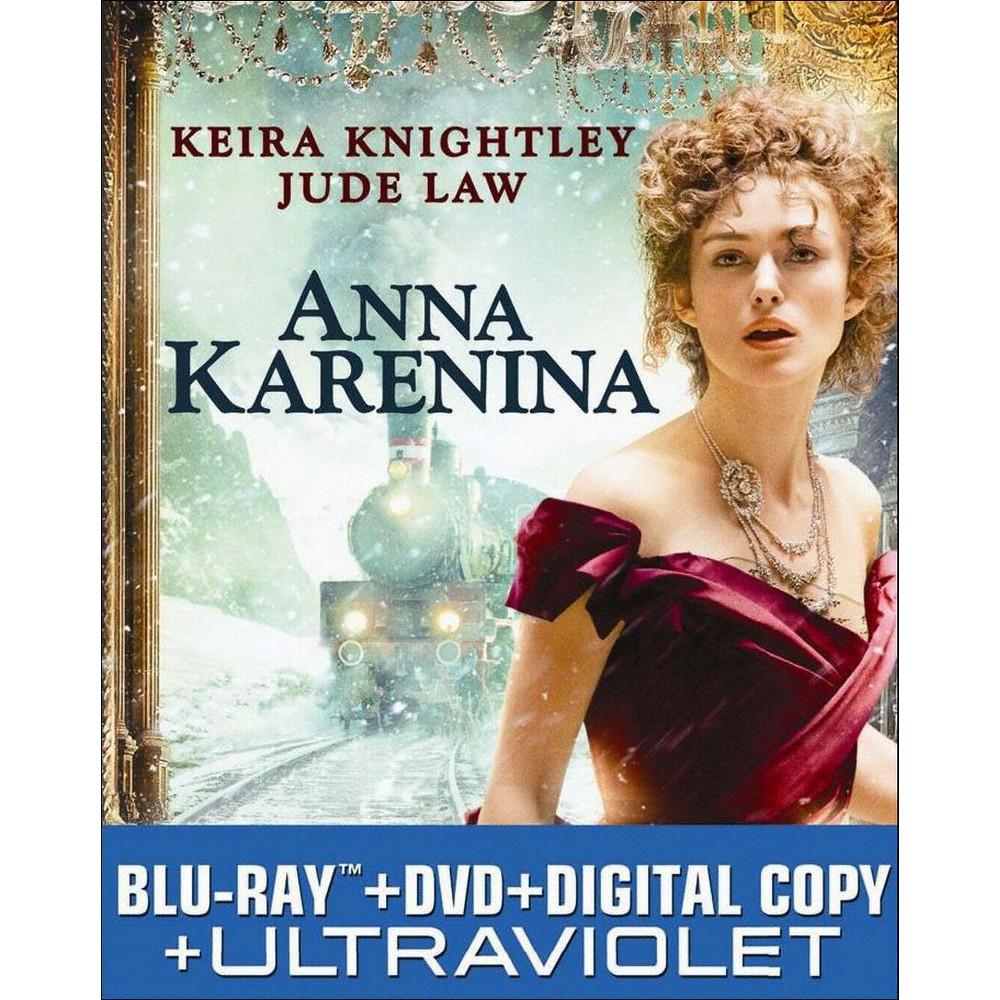 Best Anna Karenina 2 Discs Includes Digital Copy UltraViolet Blu rayDvd