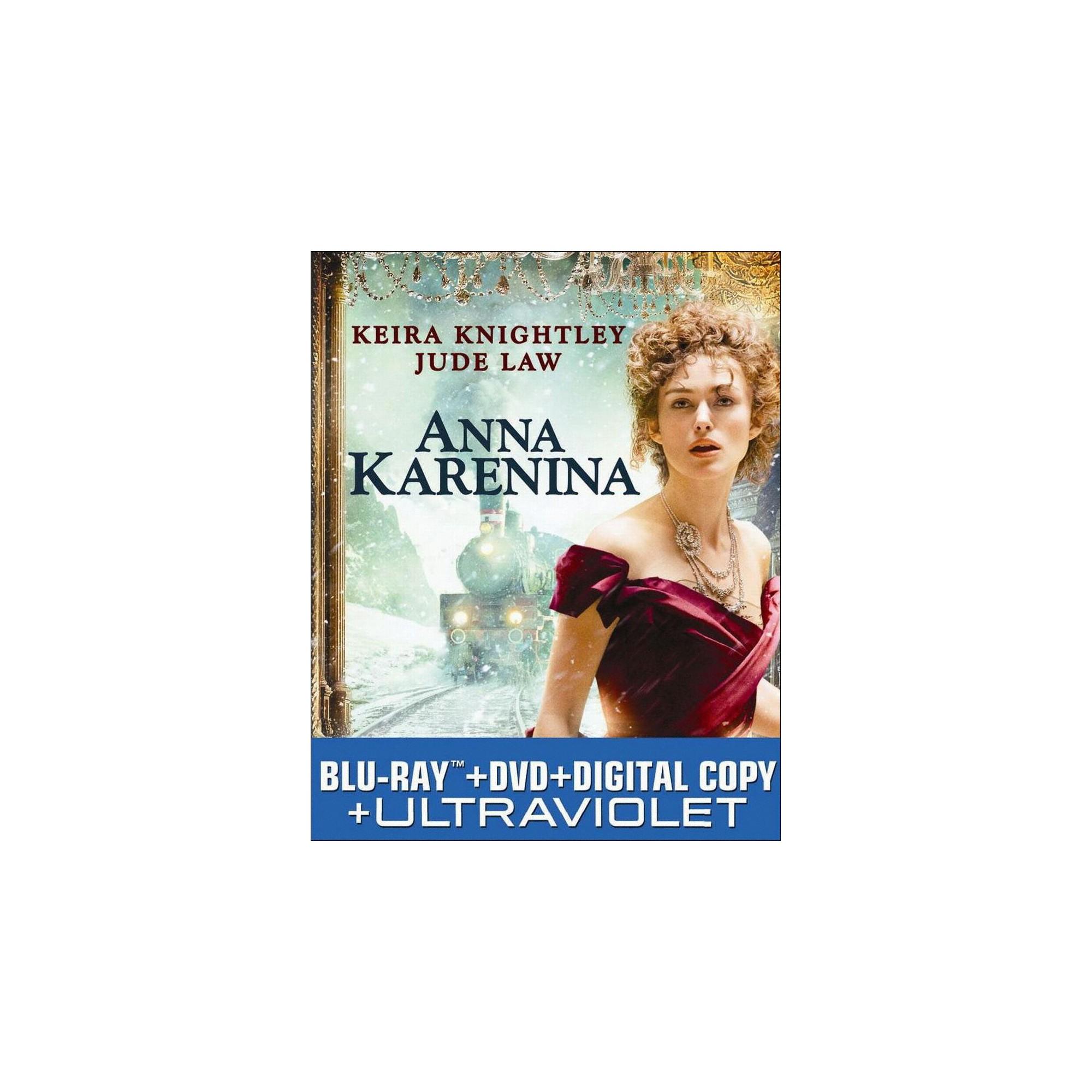 Anna Karenina (2 Discs) (Includes Digital Copy) (UltraViolet) (Blu-ray/Dvd)