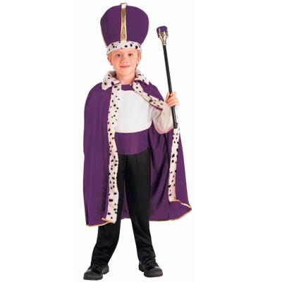 Forum Novelties Purple King Robe and Crown Child Costume