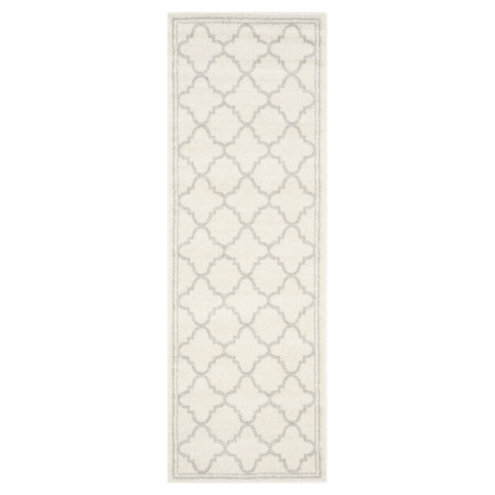 Camembert Runner - Beige / Light Gray (2'3 X 11') - Safavieh, Beige/Light Gray