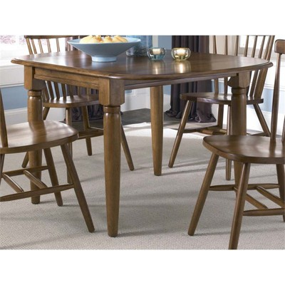 Creations Drop Leaf Table in Brown - Liberty Furniture