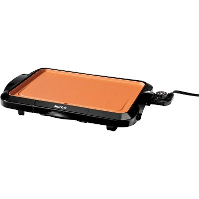 Starfrit Eco Copper Electric Griddle - Black