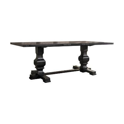 Morland Dining Table Vintage Black - Acme Furniture