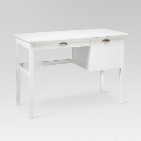 Storage Desk White Threshold