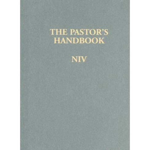 The Pastor's Handbook NIV - by  Moody Publishers (Hardcover) - image 1 of 1