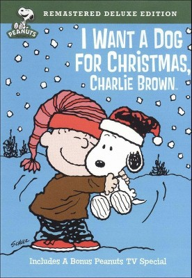 I Want a Dog for Christmas, Charlie Brown (Deluxe Edition) (DVD)