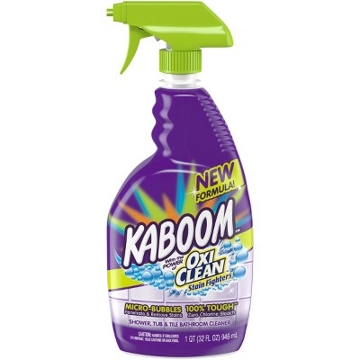 Kaboom with OxiClean Shower Tub Tile Cleaner 32 oz