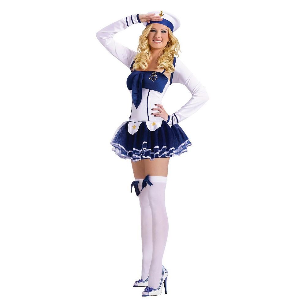 Cute Sailor Women's Costume, Blue