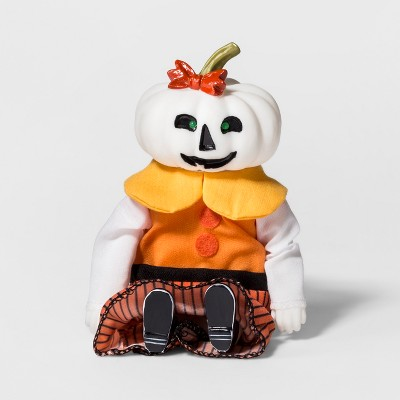 Halloween Silly Screamer Animated Mrs. Pumpkin - Hyde and Eek! Boutique™