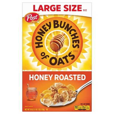 Honey Bunches of Oats Honey Roasted Oat Breakfast Cereal - 18oz - Post