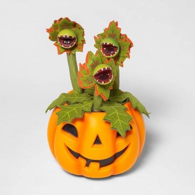 Halloween Decorative Pumpkin with Animated Dancing/Singing Vines - Hyde & EEK! Boutique™