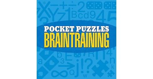 Pocket Puzzles Braintraining (Paperback) - image 1 of 1