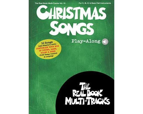 Christmas Songs Play-Along -  (The Real Book Multi-Tracks) (Paperback) - image 1 of 1