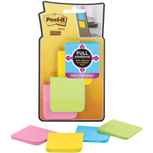 Post-it Full Adhesive Super Sticky Notes, 2 x 2 inches, Rio De Janeiro Colors, Pad of 25 Sheets, pk of 8 - image 1 of 1