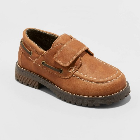Toddler Boys' Jacy Loafers - Cat & Jack™ Brown - image 1 of 3