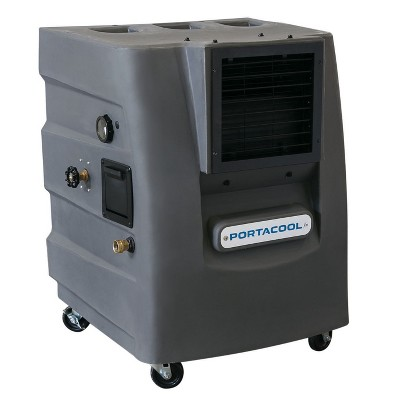 Portacool PACCY120 Cyclone 120 Outdoor Patio, Garage, Campsite Portable 2 Speed 500 Square Foot Evaporative Air Cooler with 10 Gallon Tank