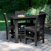 Weatherly 5pc Square Counter Dining Set - Highwood - image 3 of 7