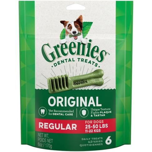 Greenies Regular Original Chicken Dental Dog Treats - image 1 of 4