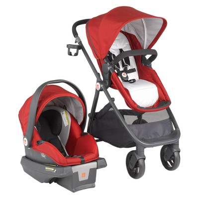 GB Lyfe Travel System - Merlot