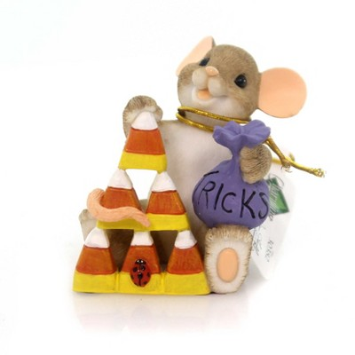 Charming Tails Trick Or Tree? Candy Corn Mouse  -  Decorative Figurines