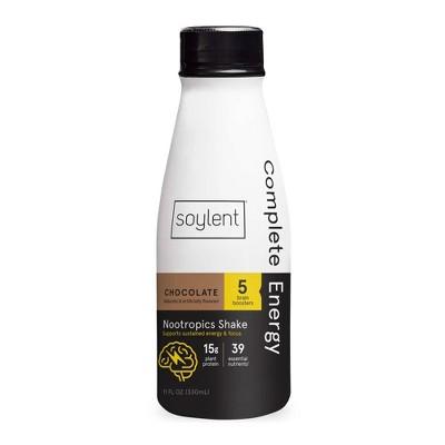 Soylent Complete Energy Shake - Chocolate - 11 fl oz