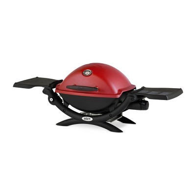 Weber Q 1400 Gas Grill - Red 51040001