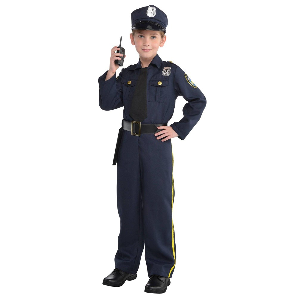 Kids 39 Police Officer Halloween Costume L