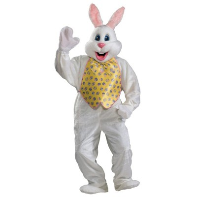 Delightful Adult Professional Easter Bunny Halloween Costume
