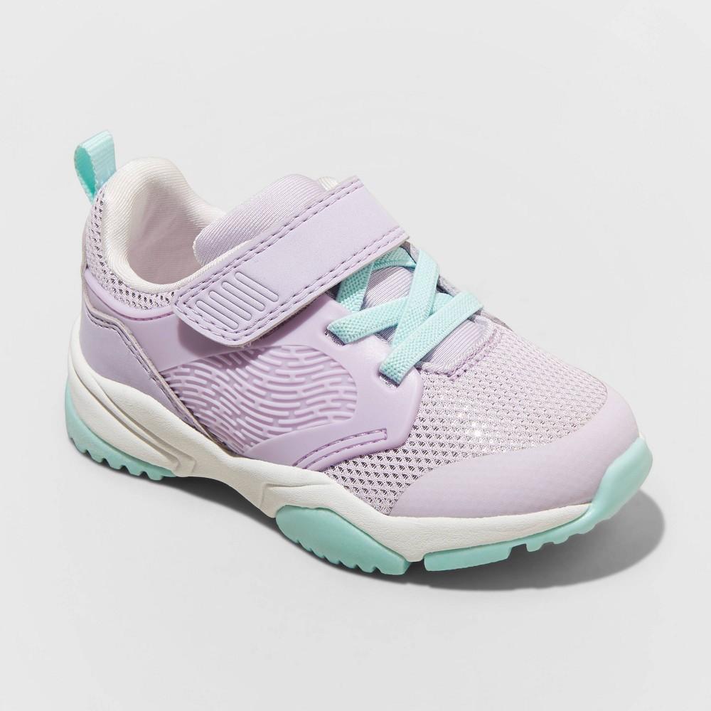 Toddler Ari Apparel Sneakers Cat 38 Jack 8482 Purple 7
