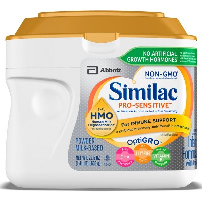 Similac Pro-Sensitive (HMO)Non-GMO Infant Formula Powder - 22.5oz