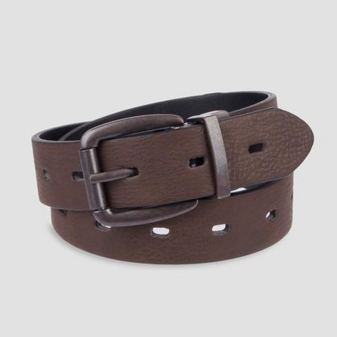 Boys' Fully Reversible Belt - Cat & Jack™ Brown - image 1 of 3