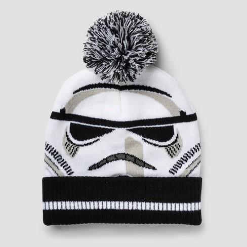 cfaaec8f451 Kids  Star Wars Stormtrooper Beanie - White One Size   Target