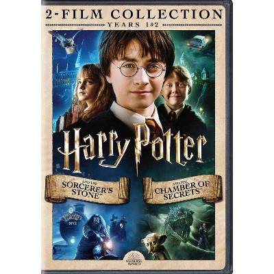 Harry Potter and the Sorcerer's Stone/Chamber of Secrets DBF (DVD)
