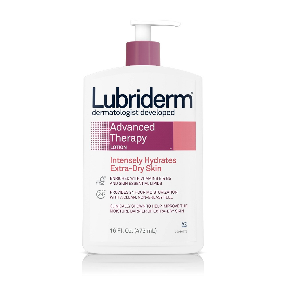Image of Lubriderm Advanced Therapy Lotion with Vitamin E and B5 - 16 fl oz