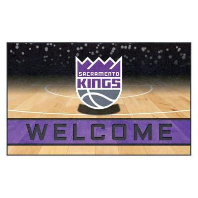 "NBA Sacramento Kings Crumb Rubber Door Mat 18""x30"""