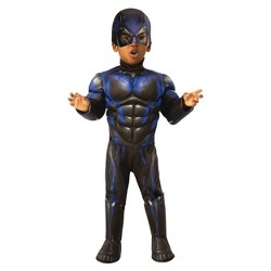 Toddler Boys' Marvel Black Panther Muscle Deluxe Halloween Costume