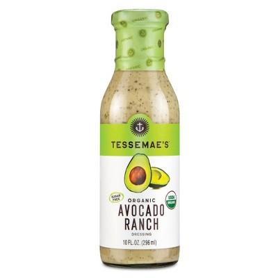 Tessemae's Organic Avocado Ranch Dressing - 10 fl oz