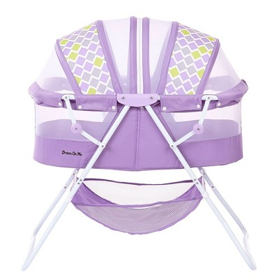 Dream On Me Karley Bassinet - Periwinkle