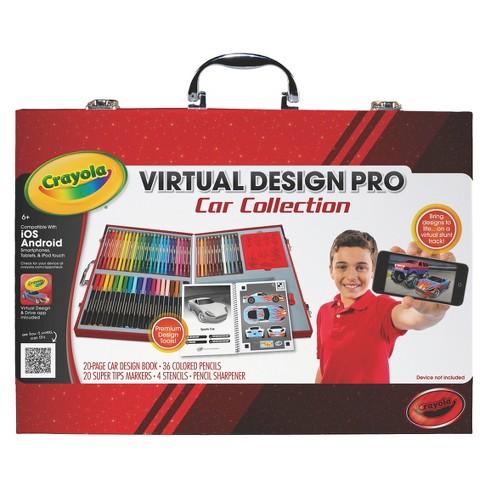 crayola virtual design pro car collection target