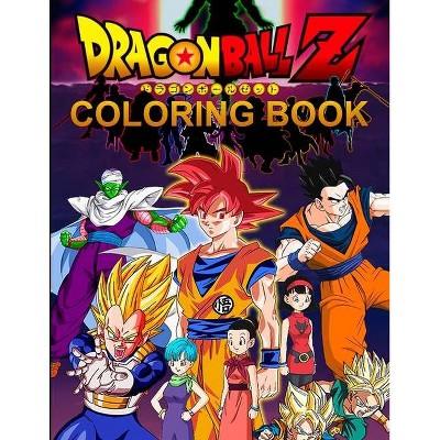 Dragon Ball Z Coloring Book - By Julia Green (paperback) : Target