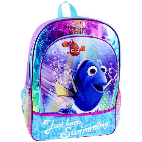 """FINDING DORY 16/"""" LARGE ROLLING BACKPACK"""
